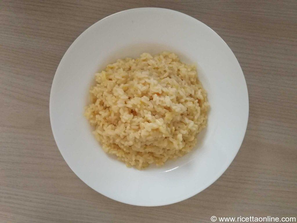 Risotto con brancaleone e arancia ricette di cucina facile on line - Ricette cucina on line ...